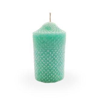 Lumanari parfumate in forma de cilindru cu tinte